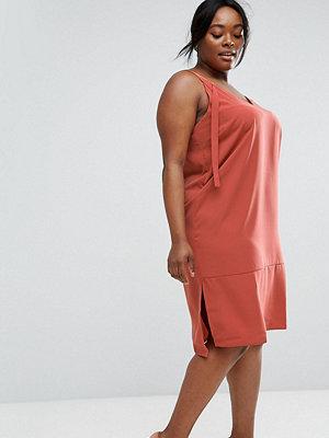 ASOS Curve Dungaree Style Slip Dress