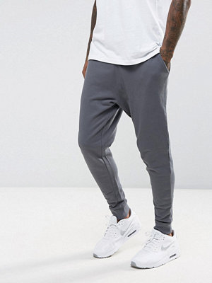 ASOS Tapered Joggers In Grey