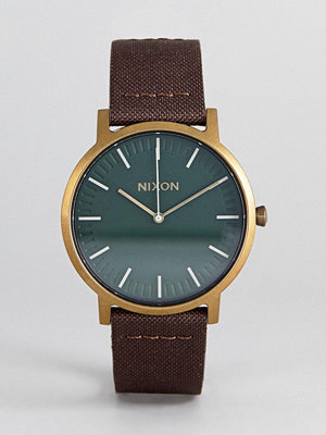Klockor - Nixon A1058 Porter Leather Watch