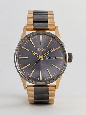 Klockor - Nixon A356 Sentry SS Bracelet Watch In Mixed Metal