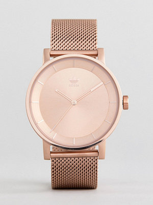 Klockor - Adidas Z04 District Mesh Watch In Rose Gold