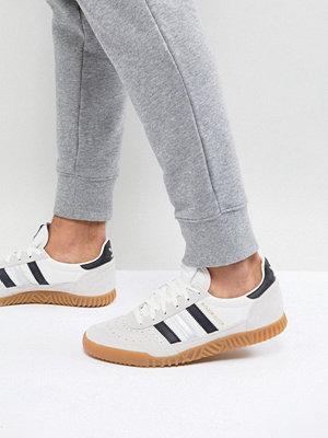Sneakers & streetskor - Adidas Originals Indoor Super Trainers In White CQ2223