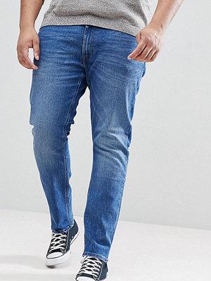 Jeans - Lee PLUS Luke Skinny Jeans in Midwash