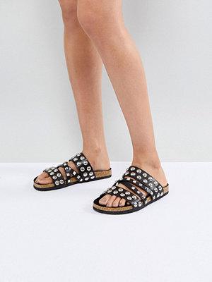 Sandaler & sandaletter - ASOS FORTUNE Studded Slider