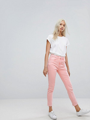 Levis Line 8 Levi's Line 8 High Rise Cropped Skinny Jean with Raw Hem