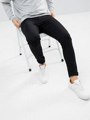 Jeans - Weekday Form Stay Black Super Skinny Jeans