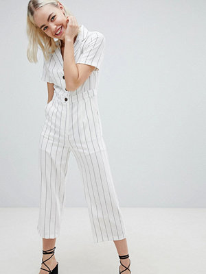 Jumpsuits & playsuits - Emory Park Relaxed Jumpsuit In Fine Stripe