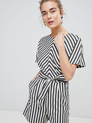 Jumpsuits & playsuits - Warehouse Thick Stripe Playsuit