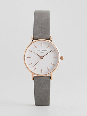 Klockor - Rosefield 26WGR-264 Leather Watch
