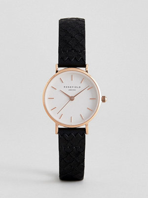 Klockor - Rosefield 26WBR-261 Leather Watch