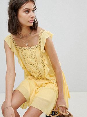 Free People Cut Work Mini Dress