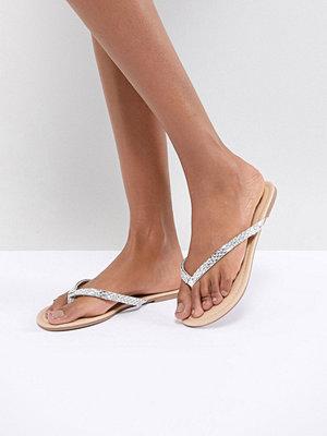 Sandaler & sandaletter - Oasis Dimante Flat Sandal