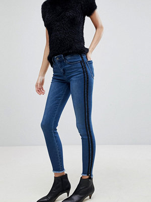 Stradivarius Double Side Stripe Skinny Jean