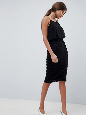 Traffic People Pleated Cami Midi Dress