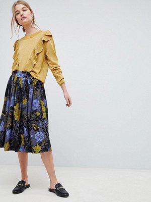 Selected Selecetd Sonja Floral Midi Skirt - Flower aop