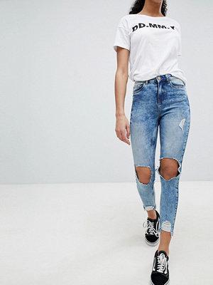 Jeans - Noisy May Jeans med rivna knän