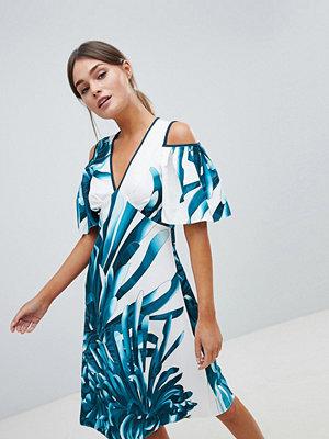 Closet London Closet Tropical A Line Dress