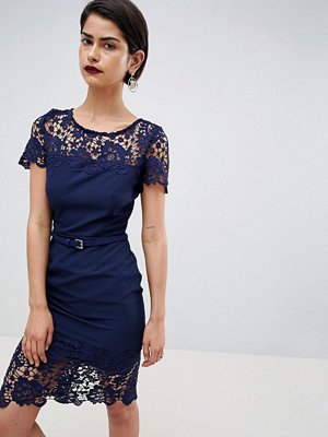 Paper Dolls Paperdolls Lace Detail Pencil Dress