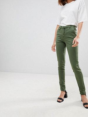 Ichi 80's jeans med hög midja Grön