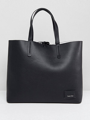 Calvin Klein Reversible Shopper - Black/ck white