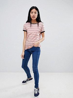 Lee Randig t-shirt Faded pink