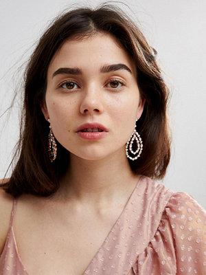 Aldo örhängen Teardrop Chandelier Earrings - Rose gold