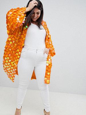 ASOS Curve ASOS DESIGN Curve Bright Sequin Kimono