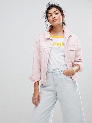 Wrangler Denim Trucker Jacket - Pretty pink
