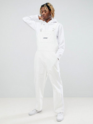 ASOS x Unknown London Cord Dungarees With Side Stripes