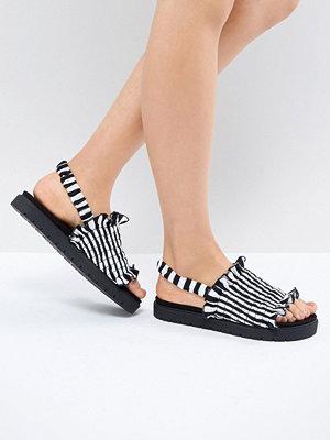 Monki Stripe Sandal - Stripes