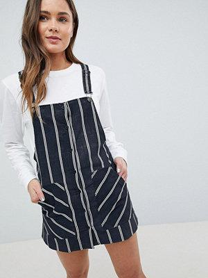 Pull&Bear Stripe Baby Cord Dunagrees Dress
