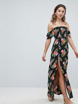 New Look Printed Maxi Beach Dress