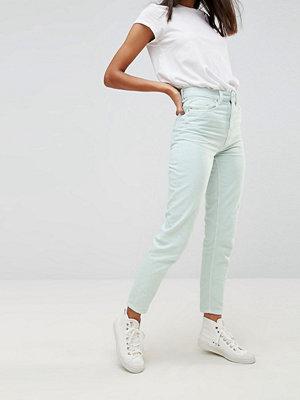 Wåven Elsa Mintgröna mom jeans Blek mint