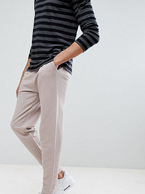 ASOS DESIGN Tall Slim Joggers In Light Pink - Dainty