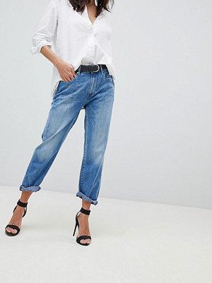 G-Star 3301 Korta boyfriend jeans med mellanhög midja Medium aged