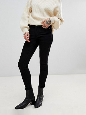 Cheap Monday High Skin Skinny Jeans - Pure black