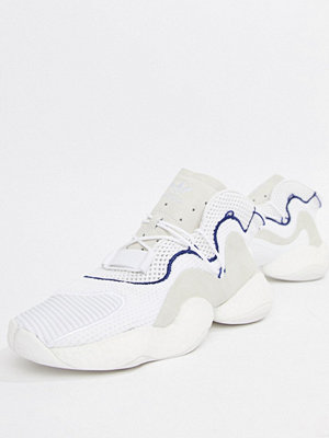 Adidas Originals Crazy BYW LVL 1 Boost Trainers In White CQ0992