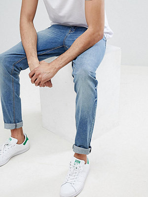 ASOS TALL Skinny Jeans In Mid Wash - Mid wash blue