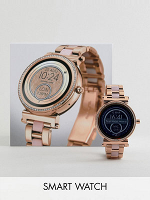 Michael Kors Access MKT5041 Sofie Bracelet Display Smart Watch In Rose Gold/Pink 42mm