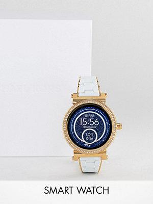 Michael Kors Access MKT5039 Sofie Bracelet Display Smart Watch In White 42mm