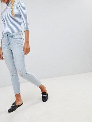 Jdy Silver Slitna jeans med boyfriend-passform