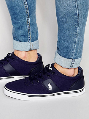 Polo Ralph Lauren Hanford Canvas Trainers - Navy