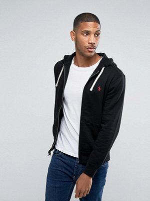 Polo Ralph Lauren Plain Jersey Zip Up Hoodie