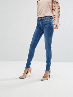 River Island Amelie Mid Rise Super Skinny Jeans - Mid auth