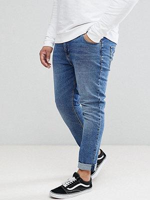 ASOS DESIGN Plus Skinny Jeans In Dark Wash - Dark wash blue