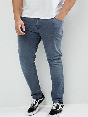 ASOS PLUS Skinny Jeans In Smokey Blue - Dark wash blue