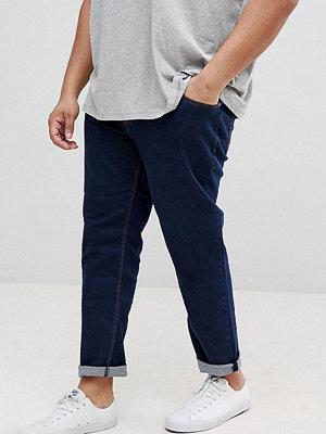 ASOS PLUS Slim Jeans In Indigo - Indigo