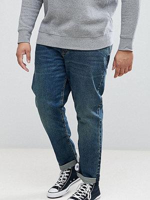 ASOS PLUS Slim Jeans In Vintage Dark Wash - Dark wash vintage