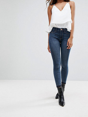 River Island Molly Mid Rise Skinny Jeans - Dark denim