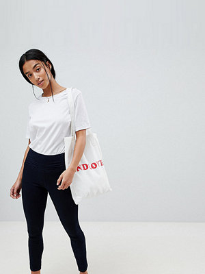 ASOS Petite ASOS DESIGN Petite Rivington With Athleisure Styling In Indigo Wash - Indigo